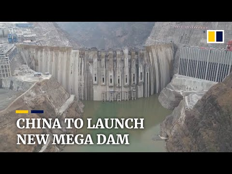 China prepares to launch new mega hydroelectric dam in July