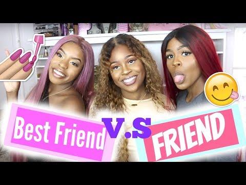 BEST FRIEND Vs FRIEND 😂 | NELLA ROSE ALIYAH MARIA BEE MIMI MISSFIT