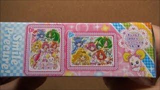パズルが意外と難しかったw スマイルプリキュア! パズルガム3 SMILE PRECURE! Puzzle Gum 販売者 株式会社エンスカイ 内容量 2個(ガム) 購入価格 105円.