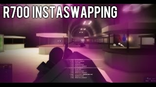R700 INSTASWAPPING IN ROBLOX PHANTOM FORCES!