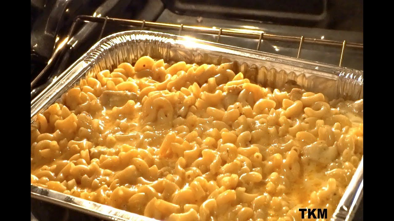 Old Fashioned Southern Baked Mac And Cheese