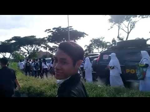 Suramadu Menghitam... PSHT Surabaya Ikut Memeriahkan Acara MILLENNIAL ROAD SAFETY FESTIVAL SURAMADU