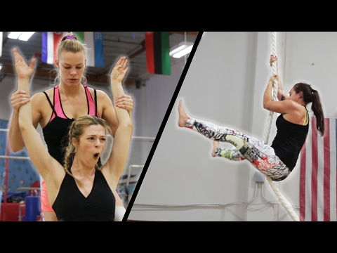 Thumbnail: We Trained To Be Gymnasts In 7 Days