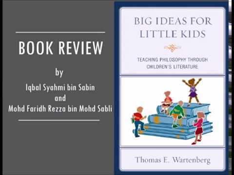 Book Review : 'Teaching Philosophy Through Children's Literature' by Thomas E. Wartenberg