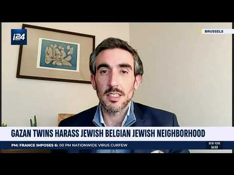 Yohan joins i24NEWS English on viral video in Antwerp