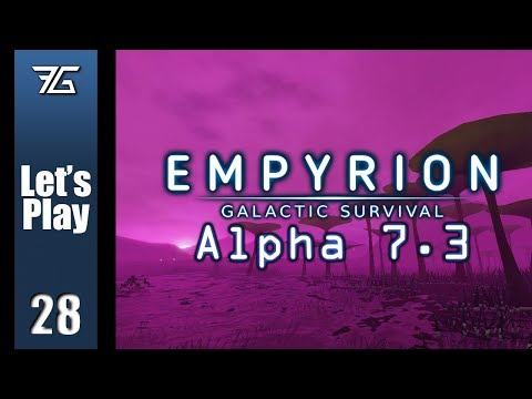 Empyrion : Galactic Survival Alpha 7 - Ep 28 Landing Pad