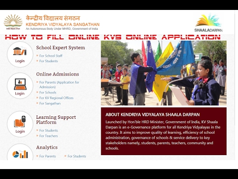 kv online application | kv online admission | kv online registration