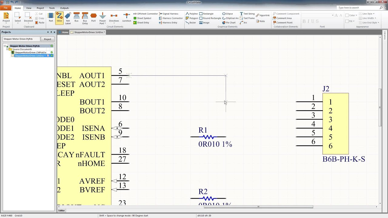 CircuitMaker Tutorial: Schematic Capture - YouTube