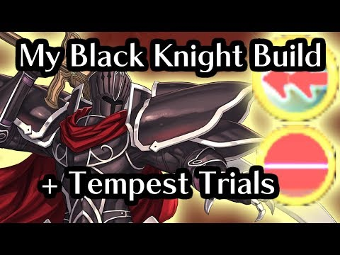 Brutally Offensive Black Knight. Fire Emblem Heroes: Tempest Trials