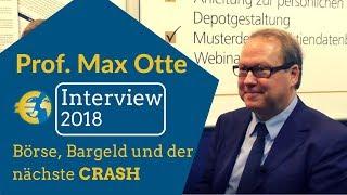 Prof. Max Otte über den nächsten CRASH, Inflation, QE, Aktien, Silber und Bargeldabschaffung