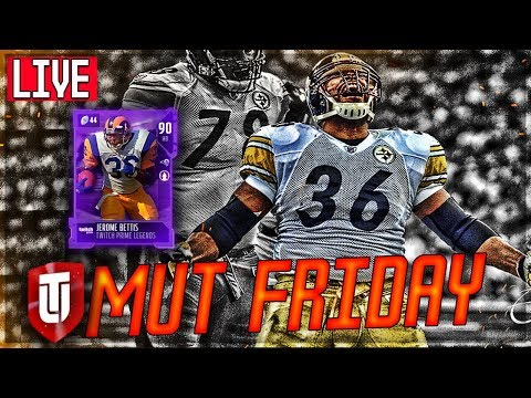 THE BUS! FINALLY A JEROME BETTIS CARD | MUT FRIDAY | MADDEN 18 Ultimate Team