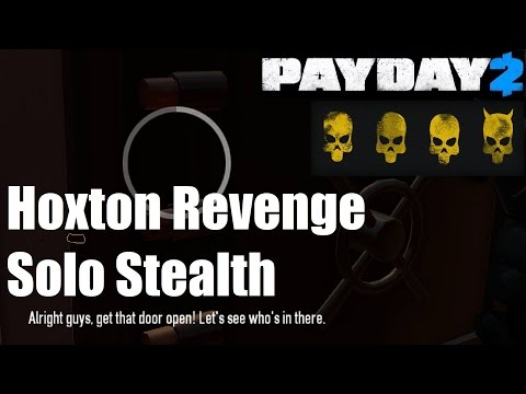 Hoxton Revenge Solo Stealth Deathwish Guide (Payday 2)