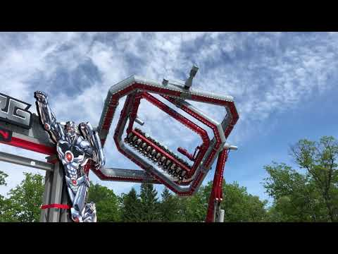 Cyborg Spin is one Fun-To-Watch Ride.
