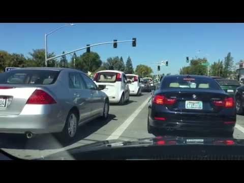 3 Google Self-driving Cars in Palo Alto