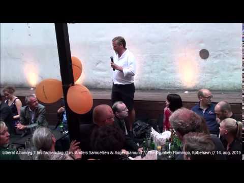 Liberal Alliances 7 års fødselsdag   m Anders Samuelsen & Asger Aamund