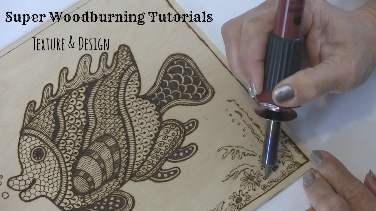 Genial Wood Burning   Texture And Design Tutorial   YouTube