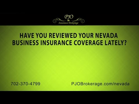 Have you reviewed your Nevada business insurance coverage lately? | PJO Insurance Brokerage
