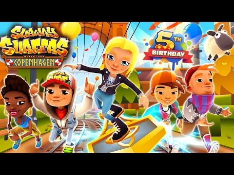 Subway Surfers Copenhagen Android Gameplay #2