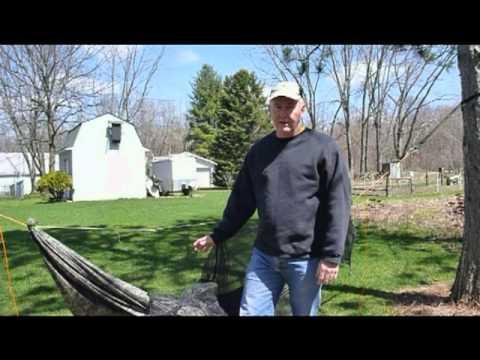 DIY Hammock with footbox outdoor trial.mpg