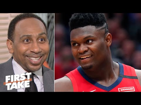 Stephen A. reacts to Zion Williamson's NBA debut | First Take