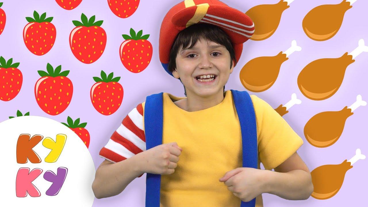 Кукутики - ПРО ЕДУ - Большой сборник песни и мультики для детей малышей
