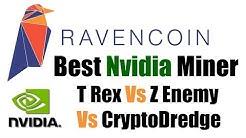Best Nvidia Ravencoin X16R Miner | T-Rex Vs Z-Enemy Vs CryptoDredge