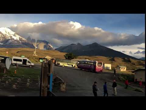 Laguna Amarga - Torres del Paine Parkeingang
