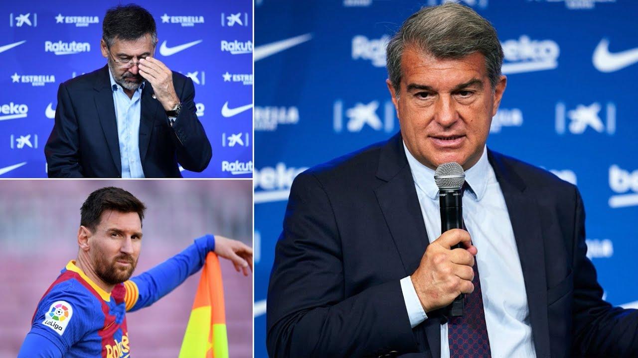 Joan Laporta speaks on Barcelona's financial crisis, The Super League & Lionel Messi's future