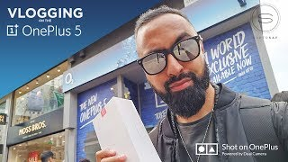 Vlogging on the OnePlus 5 with O2