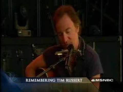 Thunder Road - Tim Russert Memorial