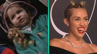 Miley Cyrus: From Apple-cheeked Toddler To World-famous Twerker