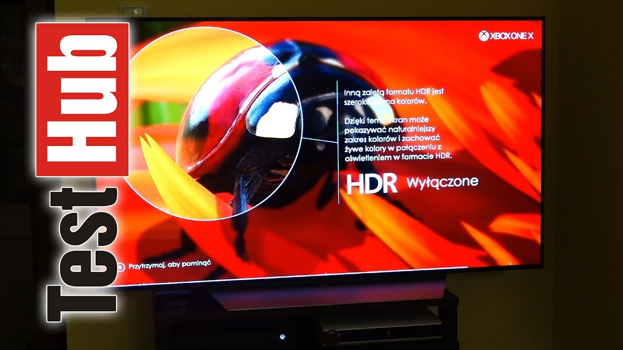 LG OLED TV + XBOX ONE X – 4K i HDR w pełnej symbiozie