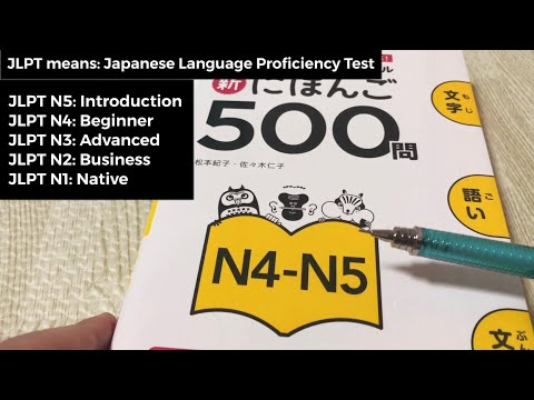 Best Japanese Textbook for the JLPT (Japanese Language Proficiency Test)