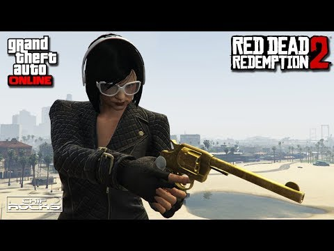 GTA Red Dead Redemption 2 Golden Double-Action Revolver Treasure Hunt Locations | Defeat The Night