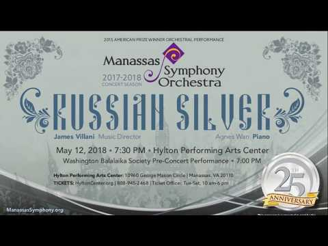 Russian Silver - by the Manassas Symphony Orchestra 5-12-2018