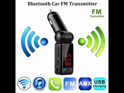 Bluetooth Araç Kiti Fm Verici Araba Mp3 Çalar