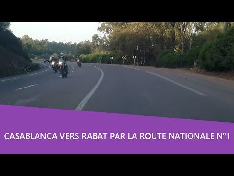Balade voiture 🚘 Casablanca vers Rabat par la route nationale N°1