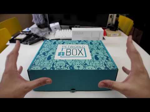 Ένα συνδρομητικό κουτί διαφορετικό από τα αλλά! Pet World Box ένα κουτί για τα κατοικίδια σου.