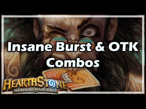 [Hearthstone] Insane Burst & OTK Combos
