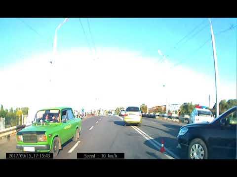 Полтава ДТП 15.09.2017 на мосту возле Киевского жд вокзала