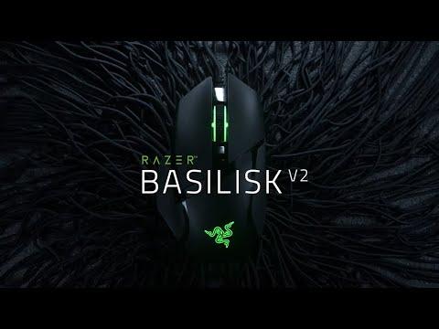 Razer Basilisk v2 RGB Gaming Ποντίκι Μαύρο