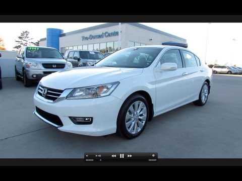 2013 Honda Accord Touring V6 Start Up, Exhaust, and In Depth Review