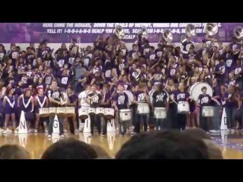 Port Neches High School Drum Line 2016