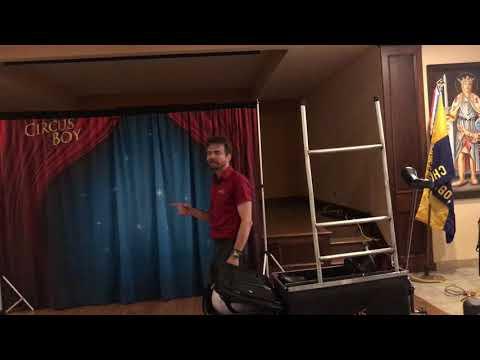 Circus Boy Magic/Comedy Show 2-11-2018 2nd Half
