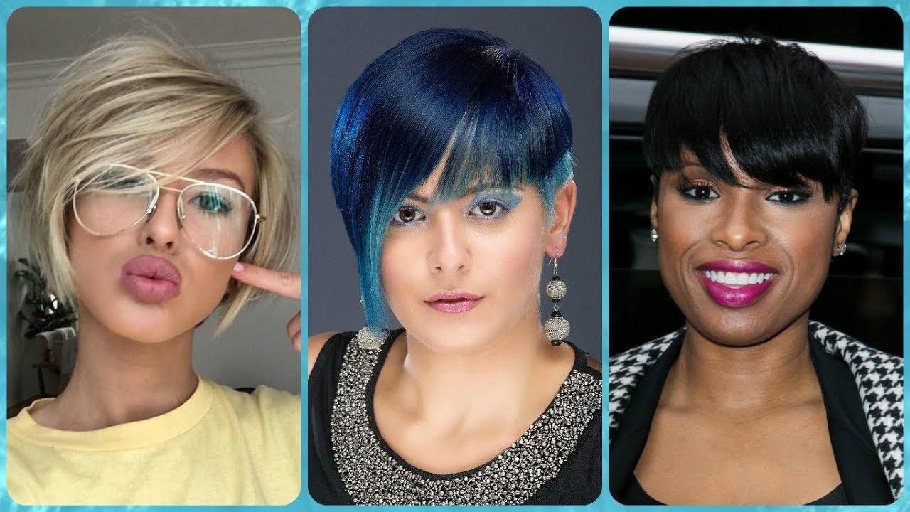 Die Aktuelle 20 Ideen Zu Kurzhaarfrisuren Rundes Gesicht Damen