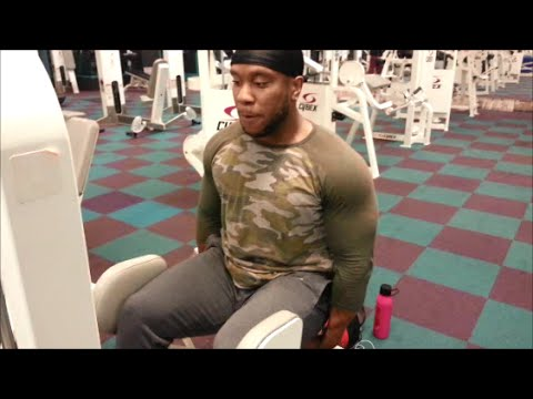 Hip Abductor Machine Tip And Raw Leg Training Clips