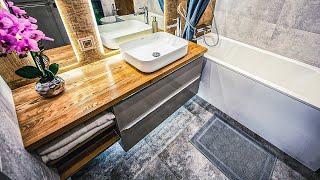 КАК СДЕЛАТЬ Дизайн ванной комнаты - ПРОСТОЙ СПОСОБ Идеи для ремонта в ванной из P NTEREST