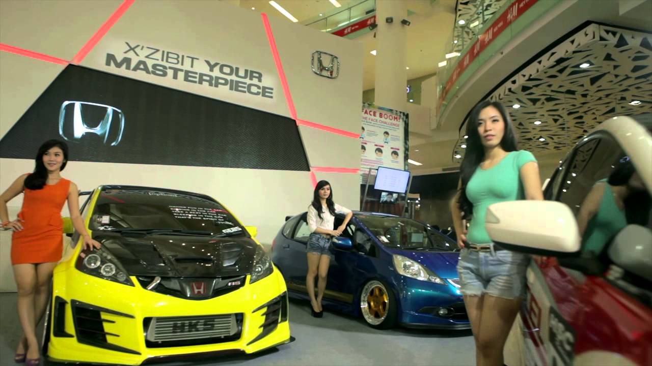 Modified Car Wallpaper Honda Jazz Tuning Contest 9 2013 Youtube