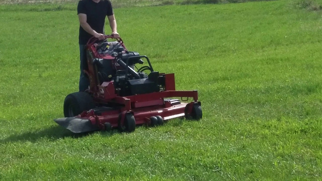 Toro 60 Grand Stand Commercial Lawn Mower For Sale Mowing Grass