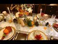 Dollar Tree Thanksgiving Tablescape